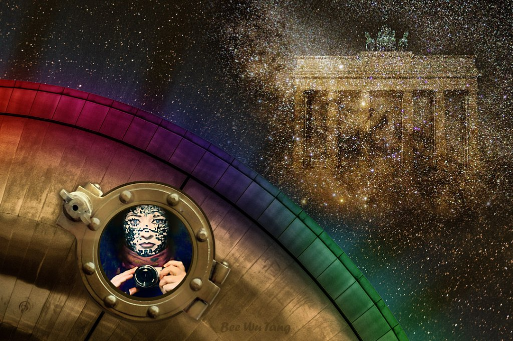 Brandenburger Tor Galaxy