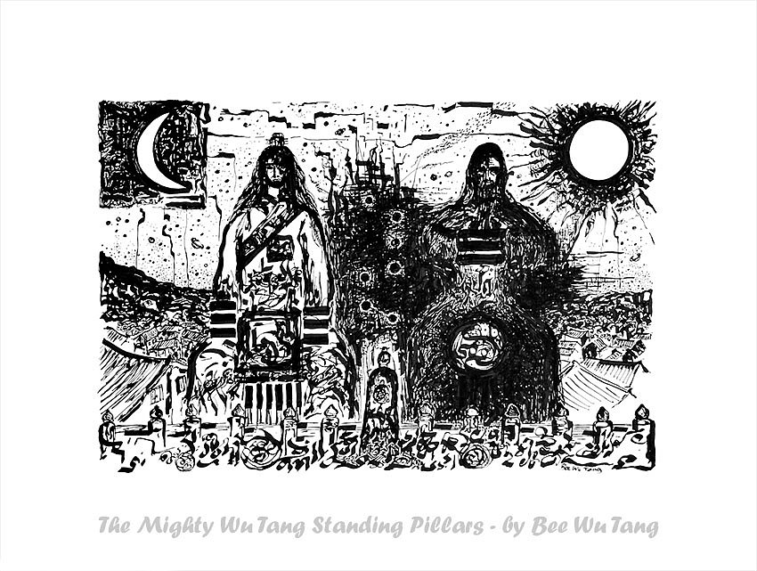 The Mighty Wu Tang Standing Pillars